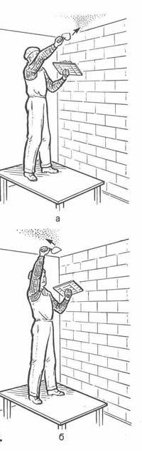 Нанесення розчину на стелю