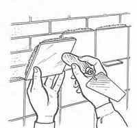 Облицювання керамічними плитками поверхонь стін
